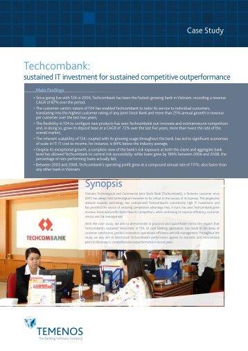 Techcombank: - Temenos