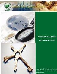 vietnam banking sector report - Vietnam Stocks, Market Analysis ...