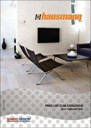 REVISED HAUSMANN PRICE LIST FINAL 18-01-12 - Eon Electric Ltd.