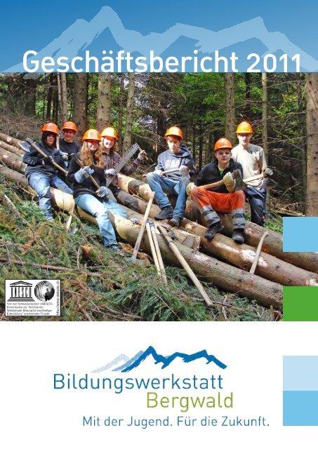 Geschäftsbericht 2011 (1.9MB) - Bildungswerkstatt Bergwald