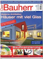 Der Bauherr 1-2012 M-Haus Frechen dh