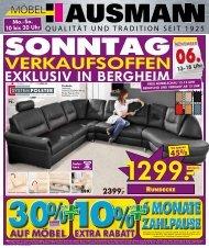 VERKAUFSOFFEN - Möbel Hausmann