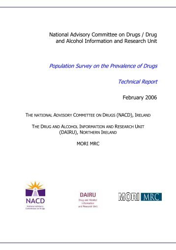 Report Template - The National Documentation Centre on Drug Use