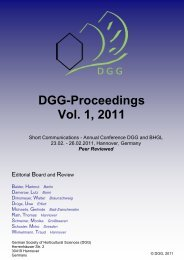 DGG-Proceedings Vol. 1, 2011