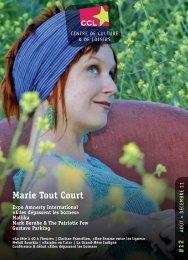 Marie Tout Court - Centre de Culture et de Loisirs