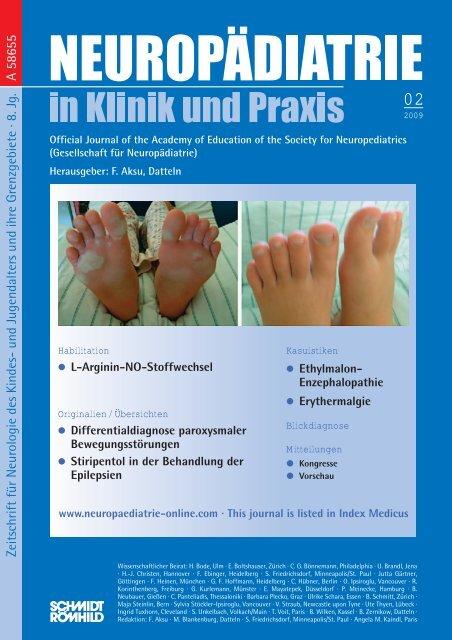 Herausgeber: F. Aksu, Datteln - Neuropädiatrie in Klinik und Praxis