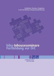 hiba-Inhouseseminare Fortbildung vor Ort