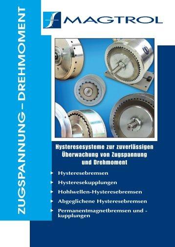 Zugspannung-Drehmoment - Magtrol GmbH