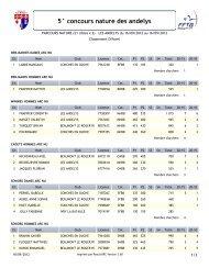 5° concours nature des andelys - Archerie club conchoise