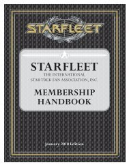 section 01 introduction - Starfleet