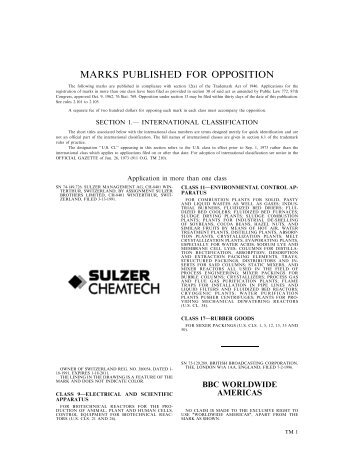 18 June 2002 - U.S. Patent and Trademark Office
