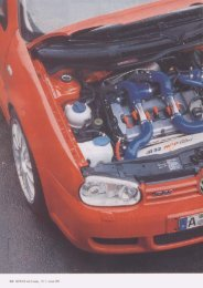 VW Golf IV R32 Bi-Turbo - HGP