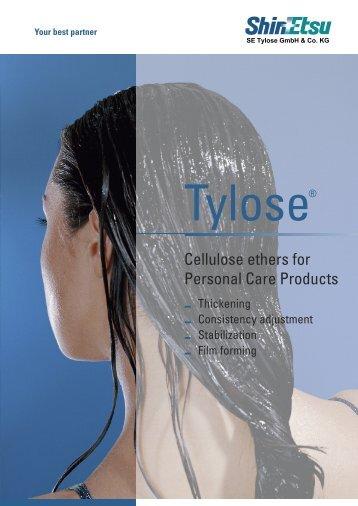 Download pdf - SE Tylose® GmbH & Co. KG