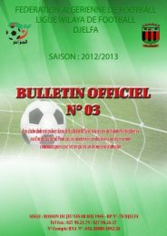 lalem aek - Ligue de wilaya de football