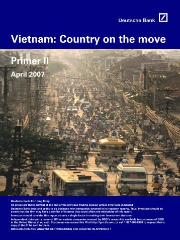 Country on the move - Vietnam Stocks, Market Analysis, Investment ...