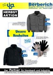 Nettoangebot Herbst/Winter 2009-2010 - uab-bau.de