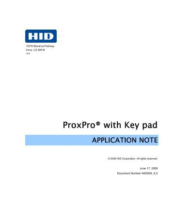 proxpro magazines proxpro keypad hid global