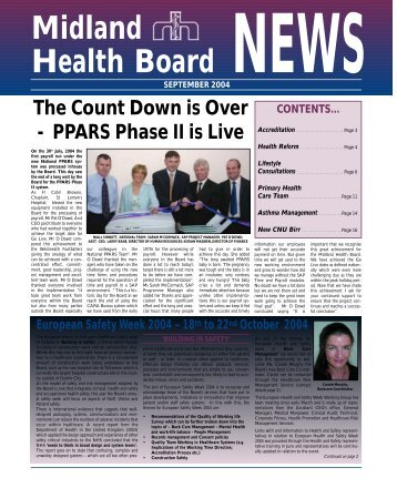 MHB News Sept 2004 - Irish Health Repository