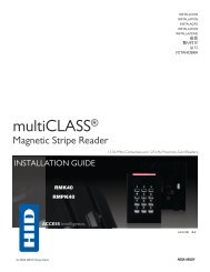 multiCLASS / Magnetic Stripe with Keypad - HID Global