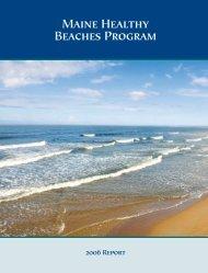 Maine Healthy Beaches Program - Maine Sea Grant - University of ...