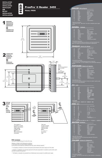 proxpro ii reader 5455 installation guide hid global hid card reader wiring diagram efcaviation com hid proxpoint plus wiring diagram at soozxer.org