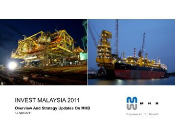 INVEST MALAYSIA 2011 - Overview And Strategy ... - Mhb.com.my