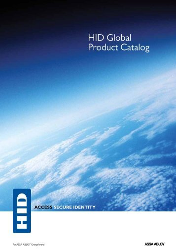 HID Full Product Catalog - HID Global