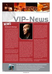 O2's in the News - VIP-Booking