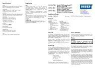 Magnetic Stripe Reader  780 - HID Global