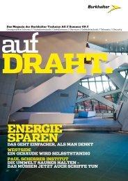 Energie Sparen - Burkhalter Technics AG