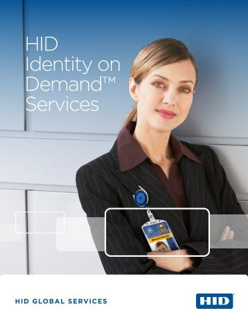 Identity on Demand Brochure - HID Global