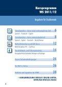 Kursprogramm_ WAF _ WS _11_12_web.pdf - Hochschule für ... - Seite 4