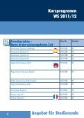 Kursprogramm_ WAF _ WS _11_12_web.pdf - Hochschule für ... - Seite 6