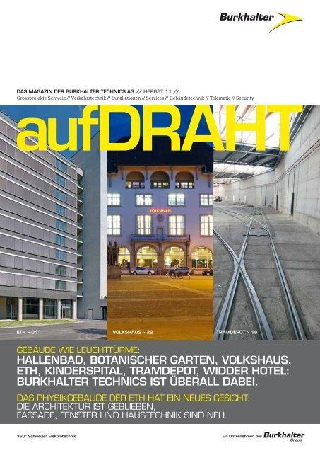 DOPPELSEITIG als Internetlektüre - Burkhalter Technics AG