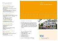 Faltblatt Anfahrt Klinik Charlottenhaus - Robert-Bosch-Krankenhaus