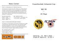 FC Thun - BSC Young Boys