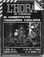 EL CARNESTOLTES CONQUEREIX CATALUNYA - Atipus
