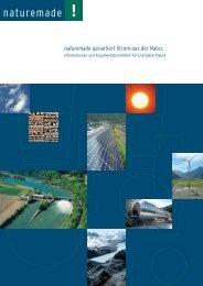 naturemade garantiert Strom aus der Natur. - Bieler Tagblatt