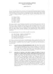 Board of Trustees Minutes Establishment of the CTC - Central Texas ...