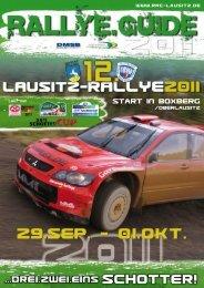 Rallye Guide - RRWC Lausitz eV