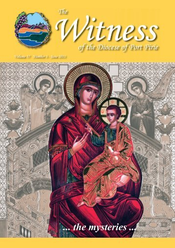The Witness-June 2011 - Diocese of Port Pirie