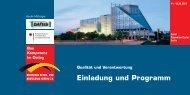 Einladung und Programm - Hamburgische Ingenieurkammer - Bau