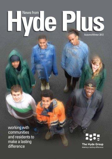 HydePlus Winter 2012 - Hyde Housing Association