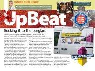 Upbeat November 2012 - Essex Police