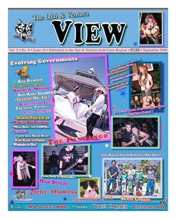 Sept/#18 Online FREE - Ojai and Ventura View