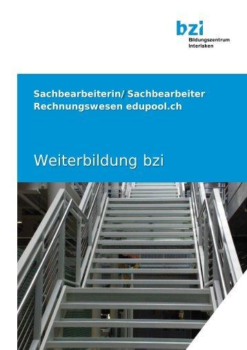 Sachbearbeiterin/Sachbearbeiter ... - Bildungszentrum Interlaken