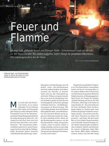 Reinigung Aktuell, Ausgabe Nr. 7 - Stangl Reinigungstechnik GmbH