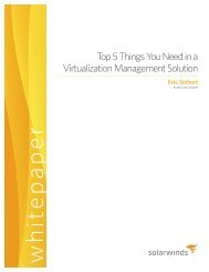 Top 5 Things You Need in a Virtualization ... - Amazon Web Services