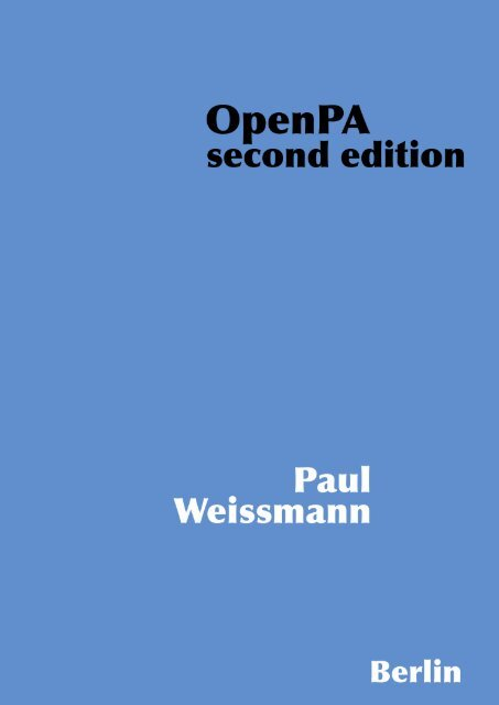 Chapter 4 PA-RISC Computer Systems - OpenPA.net