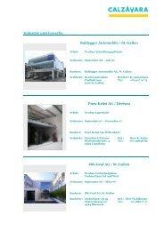 3 Industrie und Gewerbe - Calzavara AG